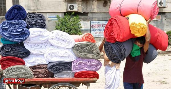 জৌলুশ ফিরে পেতে মরিয়া 'থানকাপড়' ব্যবসায়ীরা